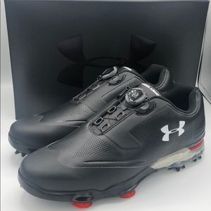 Under Armour Tour Tips Boa X Wide Golf Shoes